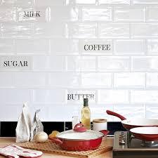 white kitchen wall tiles. Artisan Brick Wall Tiles - Kitchen Decor White