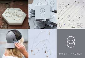 Grit Design Studio Pretty And Grit Jewelry Brand Buffalo Design Studio