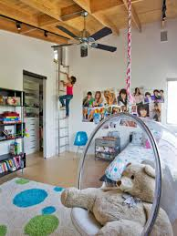 Kids Hanging Chair For Bedroom Jaw Dropping Indoor Playspaces For Kids Of All Ages Hgtv