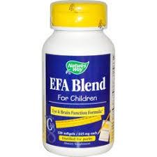 Nature's Way <b>EFA Blend for</b> Children - 120 Softgels - eVitamins.com
