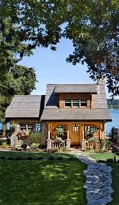 ideas about Small Houses on Pinterest   Tiny Houses  House    Think small  This cottage on the Puget Sound in Washington is a beautiful example of