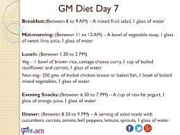 Gm Diet Vegetarian Chart Ppt Fastest Indian Vegetarian Gm Diet To Lose Weight 7