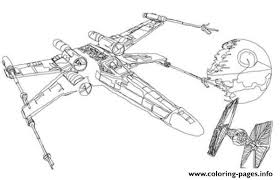 Star Wars X Wing Coloring Pages Printable