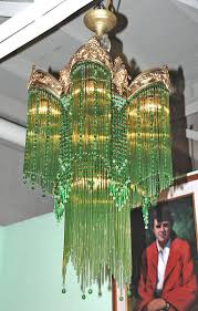 luxurious french art deco chandelier by degue sunburst