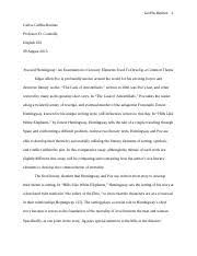 girl summary girl by kincaid summary girl by  5 pages comparative essay