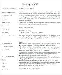 Hair Stylist Resume Examples Hair Stylist Resume Templates Skinalluremedspa Com