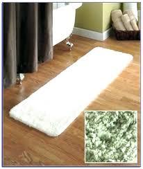 60 inch cotton bath rug lovely bathroom runner x good
