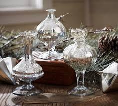 mercury glass bud vases set of 3