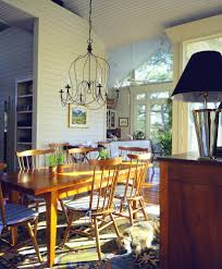 coastal dining room lights. Innovative Plug In Chandelier Vogue Charleston Beach Style Dining Room Decorators With Boards Chair Pads Coastal Lights N