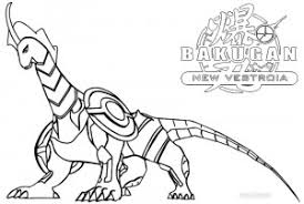 Printable Bakugan Coloring Pages For Kids Cool2bkids