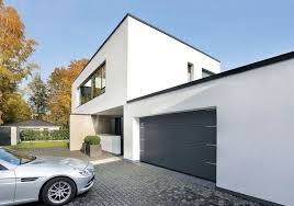 go to sectional garage doors garagen sectionaltor in edelstahl optik