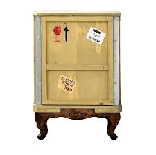 packing crate furniture. landry packing crate bedside table by seletti from out there interiors furniture m