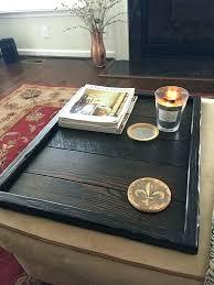 coffee table tray decor wood ottoman tray rustic serving tray rustic ottoman tray wooden tray serving