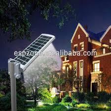 elegant integrated solar panel street led light outdoor lighting garden solar lights solar led la