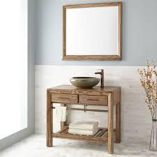 Distressed Bathroom Cabinet Distressed Wood Vanity Turquoise Rustic Bathroom Vanities And