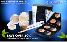love this sheer cover make up kit that s curly on 50 off get it for 29 95 with there s pretty much one of everything in here