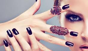 acrylic nails nail extensions in dubai