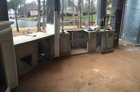 Granite For Outdoor Kitchen Charlotte Area Outdoor Kitchen Island Contruction Charlotte
