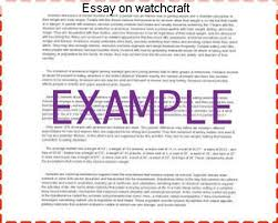 essay on watchcraft custom paper writing service essay on watchcraft history of witchcraft research guide this guide is intended for the