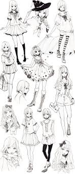 Manga Ideas Cute Anime Drawing Ideas Anime Cute Girl Nosedraw Picture Best 25