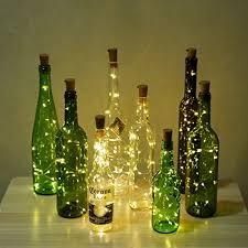Decorative Wine Bottles With Lights Wine Bottle Lights with Cork LED Bottle Lights LED Cork Lights 95