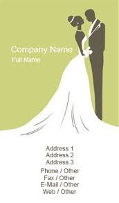 Business Card Templates Event Planning