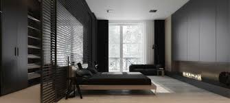 modern bedroom black. Living Ideas Bedroom Modern Fireplace Black Sofa B