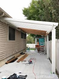 build a patio pergola attached to the