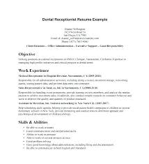 Resume For Receptionist Position Simple Law Firm Receptionist Position Resume Office Sample Letsdeliverco