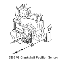 diagnose buick engine buick 3800 crankshaft position sensor