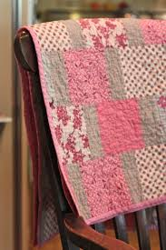 106 best Quilting images on Pinterest | Quilting, Quilts and ... & Christine Chitnis: One Stitch at a Time- there is something so pretty bout  this, could probably use a charm pack or a layer cake. Grey and pink quilt. Adamdwight.com