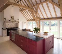 Barn Kitchen Red Barn Kitchen Atticmag