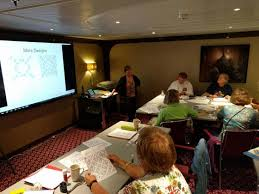 Quilt Seminars at Sea | Karen Combs Studio Blog & Celtic quilt cruise.jpg Adamdwight.com