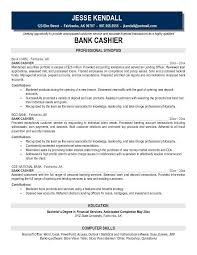 Cover Letter Cashier Job Objective Retail Resume Examples With