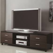 black wood tv stand  stealasofa furniture outlet los angeles ca