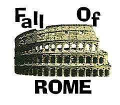 ancient rome rachelderozario fall of rome