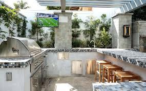 tiled countertops in kitchen urban outdoor kitchen with mosaic tiled kitchen countertops ideas