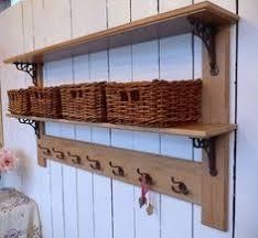 Vintage Coat Rack With Shelf Woodworking Industry Hook rack Coat hooks and Shelves 58