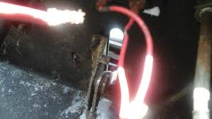 craftsman tractor keep blow up fuses it s the negative wire off of the ampmeter off of the fuse one goes to the harness the one pictured which is loose looked melted