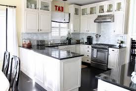 kitchen design white cabinets black appliances. Kitchen Design White Cabinets Black Appliances Good Looking T