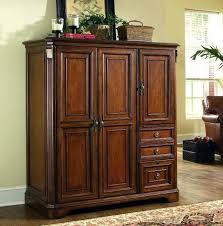 home office desk armoire. Office Armoire Desk Cabinet . Home