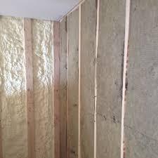 roxul batt office sound dampening closed cell spray foam sound proofing batt insulation