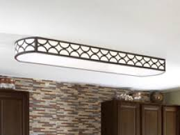 Fluorescent Kitchen Light Fixtures Flush Mount Fluorescent Kitchen Lighting Soul Speak Designs