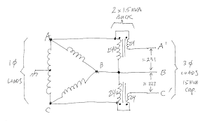 three phase buck boost wiring wiring diagram list