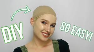 diy wig cap
