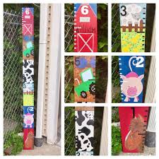 Farm Growth Chart Farm Themed Nursery Request Anything You Want On Your