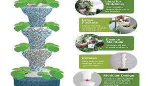 hydroponic tower garden. Amazing Tower Garden Hydroponics Ideas - Landscaping For . Hydroponic I