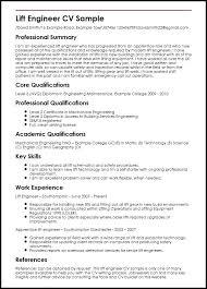 Engineer Cv Template Mechanical Resume Doc Thekindlecrew Com