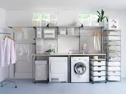 laundry room with storage drawers