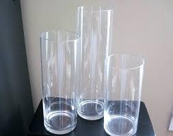 glass vases bulk glass cylinder